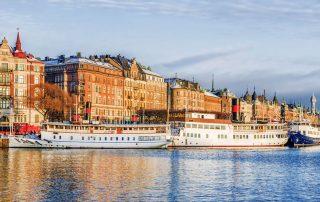 Budkörning i Stockholm
